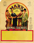 "Movie Posters:Comedy, Animal Crackers (Paramount, 1930). Table Standee (11"" X 14"")...."