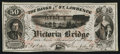 Canadian Currency: , Montreal, PQ- Banks of the St. Lawrence (Grand Trunk Railway)Advertising Note circa 1860s Vlack 4625. ...
