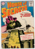 Silver Age (1956-1969):Horror, House of Secrets #1 (DC, 1956) Condition: GD/VG....
