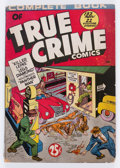 Golden Age (1938-1955):Crime, Complete Book of True Crime Comics nn (Wm. H. Wise & Co., 1945) Condition: VG-....