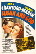 "Movie Posters:Comedy, Susan and God (MGM, 1940). One Sheet (27.25"" X 41"") Style D.Comedy.. ..."