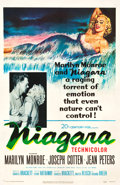 "Movie Posters:Film Noir, Niagara (20th Century Fox, 1953). One Sheet (26.75"" X 41.25"").. ..."
