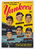 Golden Age (1938-1955):Non-Fiction, Thrilling True Story of the Baseball Yankees nn (FawcettPublications, 1952) Condition: VG....