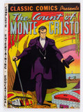 Golden Age (1938-1955):Classics Illustrated, Classic Comics #3 The Count of Monte Cristo - Original Edition(Gilberton, 1942) Condition: Apparent FN+....