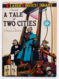Golden Age (1938-1955):Classics Illustrated, Classic Comics #6 A Tale of Two Cities - Original Edition (Gilberton, 1942) Condition: FN....