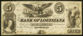 Obsoletes By State:Louisiana, New Orleans, LA- Bank of Louisiana $5 June 14, 1862 G10a. ...