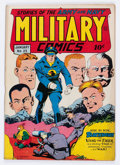 Golden Age (1938-1955):War, Military Comics #25 (Quality, 1944) Condition: FN+....