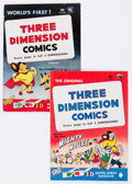 Golden Age (1938-1955):Funny Animal, Mighty Mouse 3-D #1 and 2 Group (St. John, 1953).... (Total: 2Comic Books)