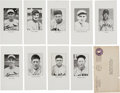 Baseball Cards:Sets, Currently Unique 1935 National League of P.B.B.C. Baseball Stars Set (9). ...