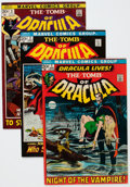 Bronze Age (1970-1979):Horror, Tomb of Dracula Group (Marvel, 1972-75) Condition: AverageFN/VF.... (Total: 20 Comic Books)