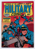 Golden Age (1938-1955):War, Military Comics #37 (Quality, 1945) Condition: VG+....