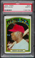 Baseball Cards:Singles (1970-Now), 1972 Topps Rich Allen #240 PSA Mint 9....