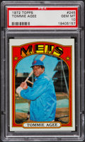 Baseball Cards:Singles (1970-Now), 1972 Topps Tommie Agee #245 PSA Gem Mint 10 - Pop Four. ...