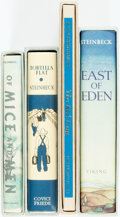 Books:Americana & American History, [John Steinbeck]. Group of Four Titles. [The First Edition Library, various dates]. Facsimile reproductions of first edition... (Total: 4 Items)