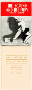 Books:Literature 1900-up, [William Faulkner.] As I Lay Dying [together with:] The Sound and the Fury. [Collectors Reprints Inc., 1957 ... (Total: 2 Items)