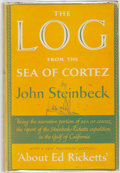 Books:Travels & Voyages, John Steinbeck. The Log from the Sea of Cortez. New York:The Viking Press, 1951. First Edition....