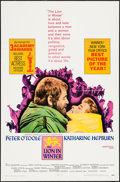 "Movie Posters:Drama, The Lion in Winter (Avco Embassy, 1968). One Sheet (27"" X 41"") and Color Photo Set of 8 (8"" X 10""). Drama.. ... (Total: 9 Items)"