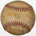 Autographs:Baseballs, 1941 Chicago Cubs and White Sox Multi Signed Baseball (15Signatures)....