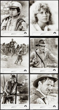 "Movie Posters:Adventure, Indiana Jones and the Temple of Doom (Paramount, 1984). Photos (18)(8"" X 10""). Adventure.. ... (Total: 18 Items)"