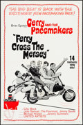 "Movie Posters:Rock and Roll, Ferry Cross the Mersey (United Artists, 1965). One Sheet (27"" X41"") & Uncut Pressbooks (2) (6 Pages, 11"" X 17""). Rock and R...(Total: 3 Items)"