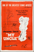 """Movie Posters:Foreign, Mon Oncle (Continental Distributing, 1959 ). One Sheet (27"""" X 41""""), Lobby Card Set of 4 (11"""" X 14""""), & Uncut Pressbook (4 Pa... (Total: 6 Items)"""