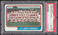 Baseball Cards:Singles (1970-Now), 1974 Topps Cardinals Team #36 PSA Gem Mint 10....