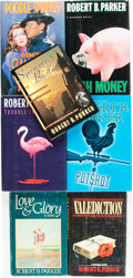 Books:Mystery & Detective Fiction, [Robert Parker]. Group of Seven First Editions. Various publishersand dates.... (Total: 7 Items)