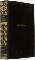 Books:Travels & Voyages, Ernest Hemingway. Death in the Afternoon. Charles Scribner'sSons, 1932. First Edition. ...