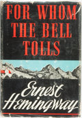Books:Literature 1900-up, Ernest Hemingway. For Whom the Bell Tolls. New York: Charles Scribner's Sons, 1940. First Edition. ...