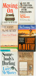 Books:Fiction, [Larry McMurtry]. Group of Six SIGNED Titles. New York: Simon andSchuster, [various dates]. All signed by the author.... (Total: 6Items)