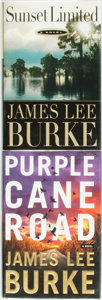 Books:Mystery & Detective Fiction, [James Lee Burke]. Pair of SIGNED First Editions. Includes:Sunset Limited. [and:] Purple Cane Road. New York:Doubl... (Total: 2 Items)