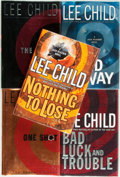 Books:Mystery & Detective Fiction, [Lee Child]. Group of Five SIGNED Mystery Titles. Delacorte Press,[various dates]. All signed by the author. Novels in ... (Total: 5Items)