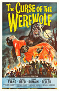 """Movie Posters:Horror, The Curse of the Werewolf (Universal International, 1961). One Sheet (27"""" X 41"""").. ..."""