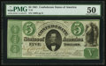 Confederate Notes:1861 Issues, T33 $5 1861 PF-19 Cr. 257b.. ...