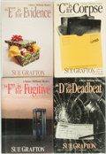 Books:Mystery & Detective Fiction, [Sue Grafton]. Group of Four SIGNED/INSCRIBED Titles. Henry Holtand Company, [various dates]. All signed or inscribed by ...(Total: 4 Items)