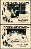 "Movie Posters:Comedy, Good Cheer (Pathé, 1926). Lobby Cards (2) (11"" X 14"").. ... (Total:2 Items)"