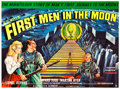 "Movie Posters:Science Fiction, First Men in the Moon (Columbia, 1964). British Quad (30"" X 40"")....."