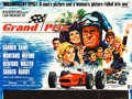 "Movie Posters:Sports, Grand Prix (MGM, 1967). British Quads (2) (30"" X 40"") Style A andStyle B.. ... (Total: 2 Items)"