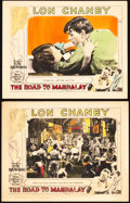 """Movie Posters:Horror, The Road To Mandalay (MGM, 1926). Lobby Cards (2) (11"""" X 14"""").. ... (Total: 2 Items)"""