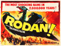 """Movie Posters:Science Fiction, Rodan! The Flying Monster (RKO, 1957). British Quad (30"""" X 40"""")....."""