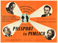 "Movie Posters:Comedy, Passport to Pimlico (Ealing, 1949). British Quad (30"" X 40"").. ..."