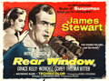 "Movie Posters:Hitchcock, Rear Window (Paramount, 1954). British Quad (30"" X 40"").. ..."