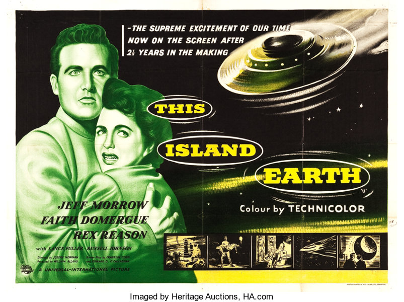 This Island Earth (Universal International, 1955)  British