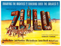 "Movie Posters:War, Zulu (Paramount, 1964). British Quad (30"" X 40"").. ..."