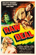 """Movie Posters:Film Noir, Raw Deal (Eagle Lion, 1948). One Sheet (27"""" X 41"""").. ..."""