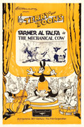 "Movie Posters:Animation, The Mechanical Cow Terry-Toon Cartoons (20th Century Fox, 1936). One Sheet (27"" X 41"").. ..."
