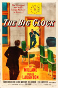 "Movie Posters:Film Noir, The Big Clock (Paramount, 1948). One Sheet (27"" X 41""). Film Noir.. ..."