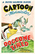 "Movie Posters:Animation, Doggone Tired (MGM, 1949). Tex Avery One Sheet (27"" X 41"").. ..."
