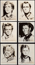 """Movie Posters:Western, Shane (Paramount, 1953). Photos (17) (8"""" X 10"""").. ... (Total: 17Items)"""