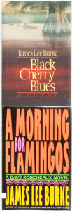 Books:Mystery & Detective Fiction, [James Lee Burke]. Pair of INSCRIBED First Editions. Including:Black Cherry Blues. [together with:] A Morning f...(Total: 2 Items)